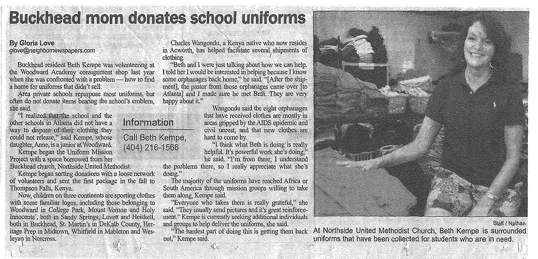 no school uniforms articles